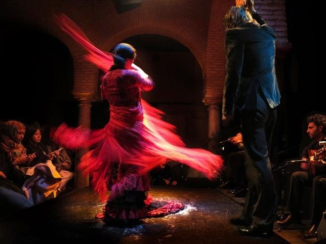 ballerina di flamenco a Siviglia