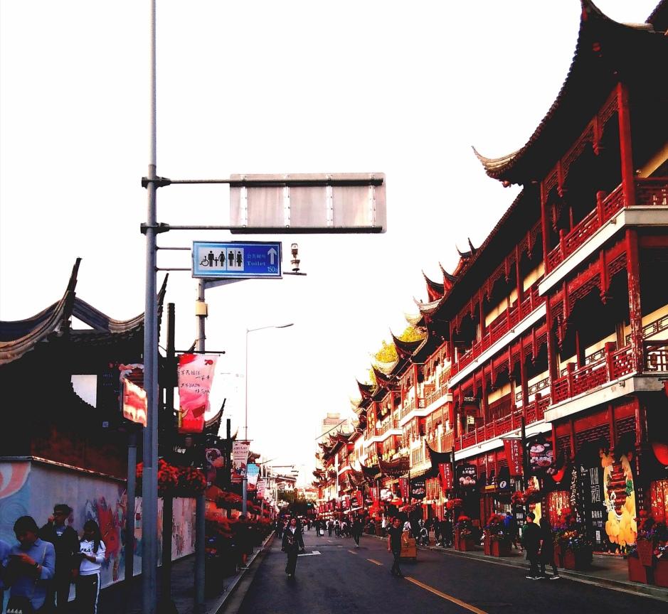 città antica di Shanghai