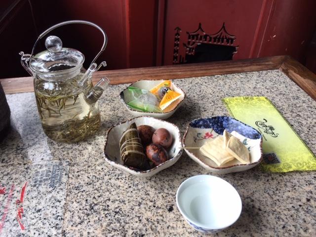 sala da té a Shanghai