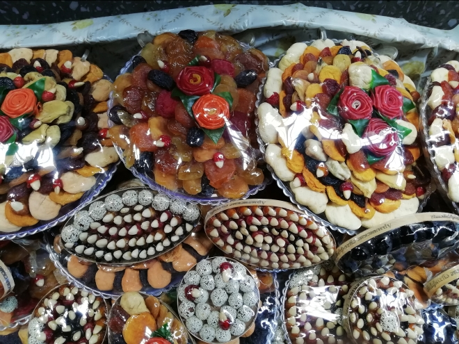 dolci al mercato, Yerevan, Armenia