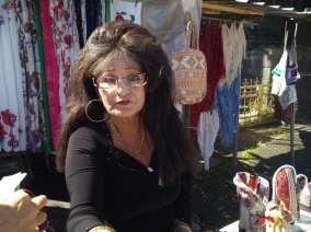 signora al mercato