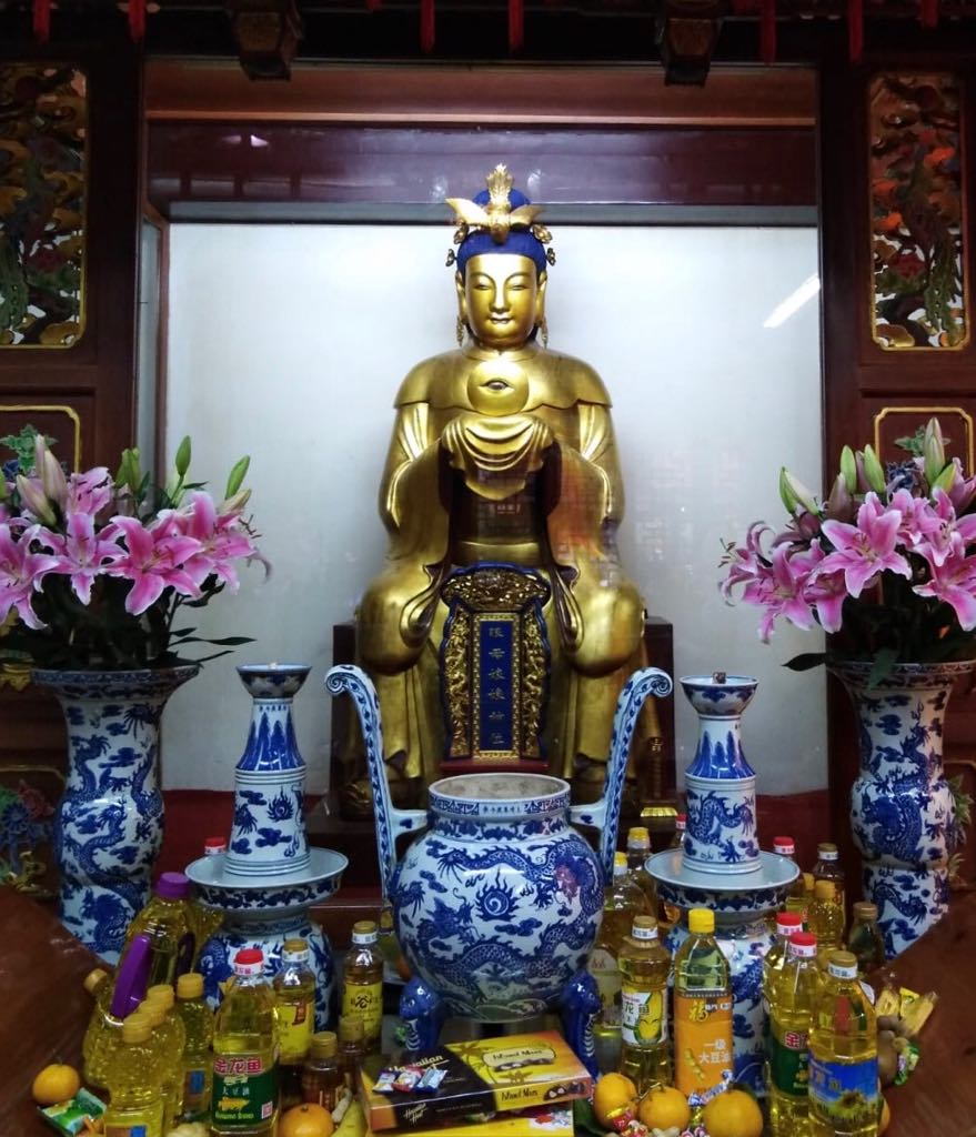 tempio del dio di città a Shanghai