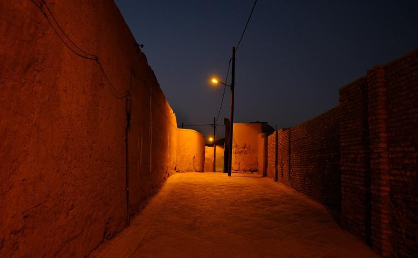 Notte a Yazd